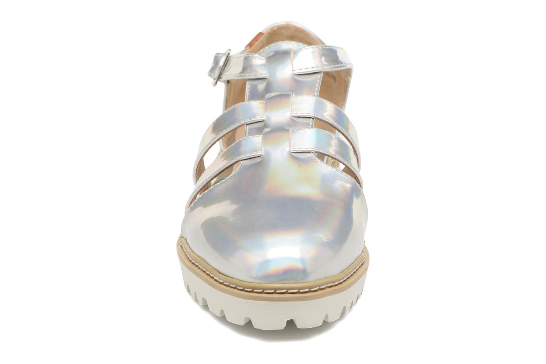Sandalen MTNG Loku 52873 silber schuhe getragen