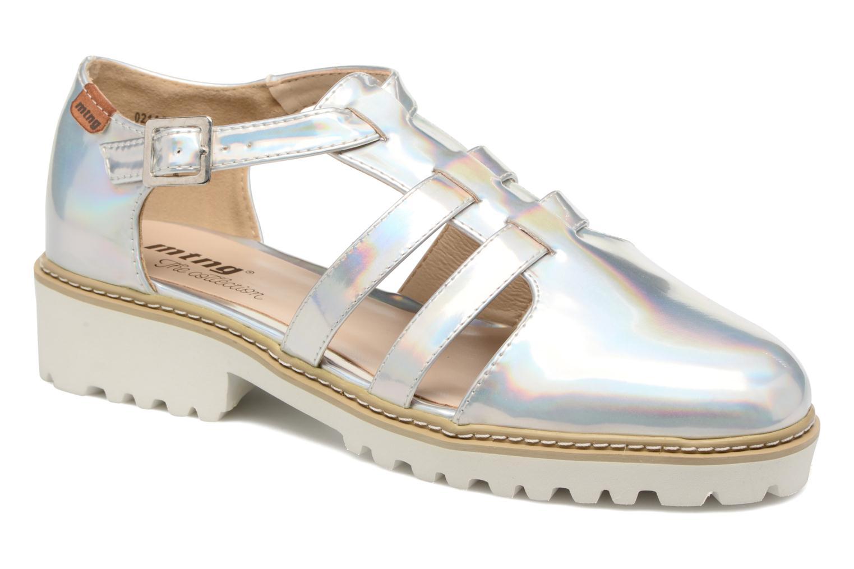 Sandaler MTNG Loku 52873 Sølv detaljeret billede af skoene