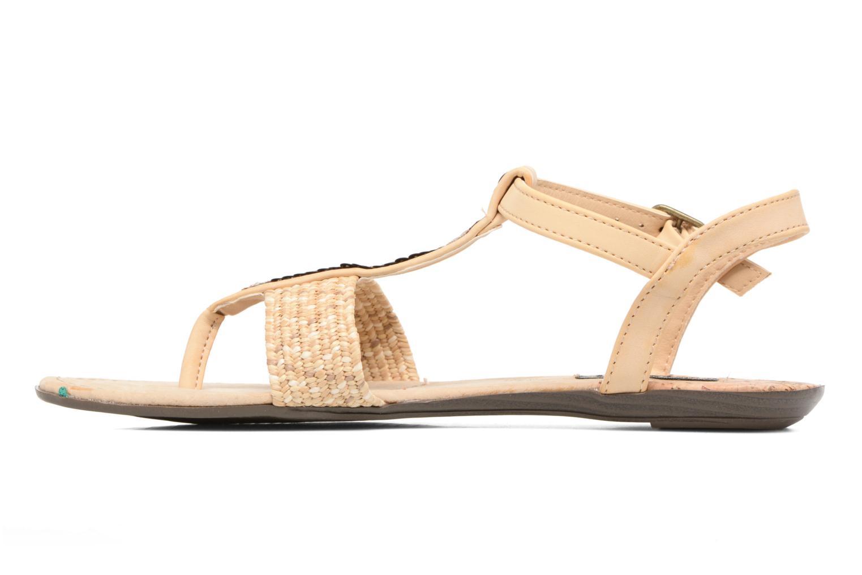 Sandales et nu-pieds MTNG Brush 53533 Beige vue face