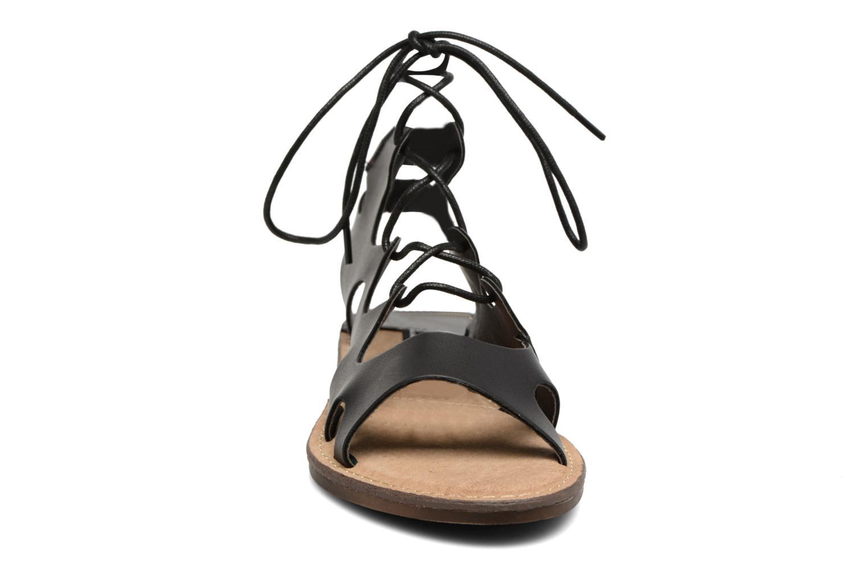 Sandales et nu-pieds MTNG Space 53674 Noir vue portées chaussures
