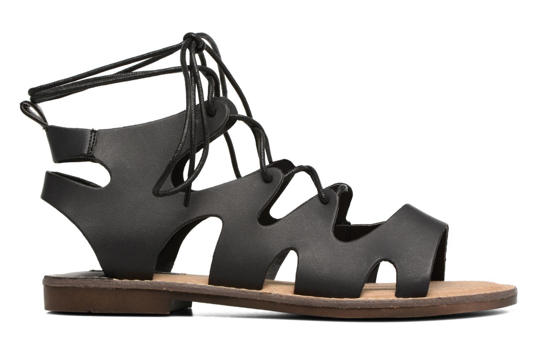 Sandales et nu-pieds MTNG Space 53674 Noir vue derrière