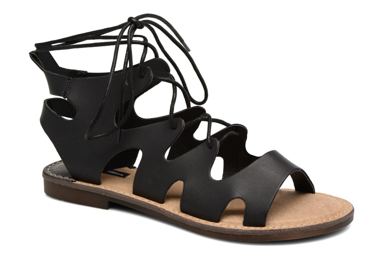 Sandales et nu-pieds MTNG Space 53674 Noir vue détail/paire
