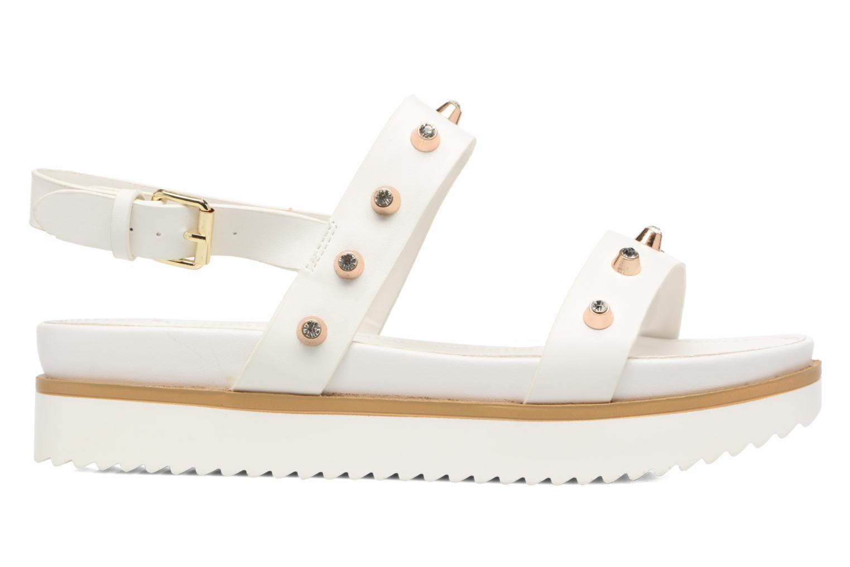 Sandales et nu-pieds MTNG Clou 53937 Blanc vue derrière