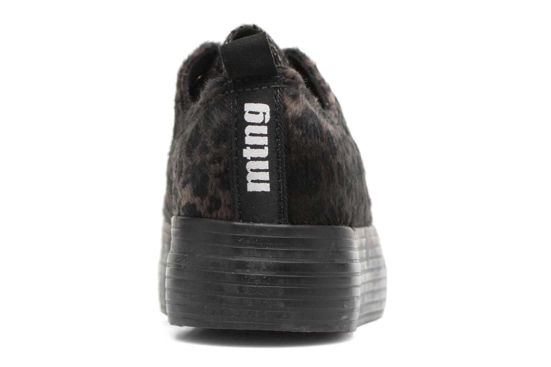 Sneaker MTNG Box 56399 schwarz ansicht von rechts