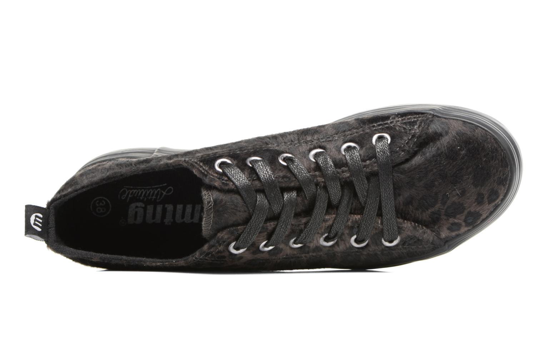 Sneaker MTNG Box 56399 schwarz ansicht von links