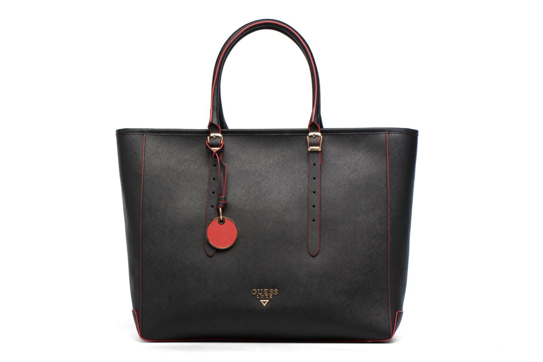 Sacs à main Guess Cabas Saffiano Lady Luxe Noir vue détail/paire