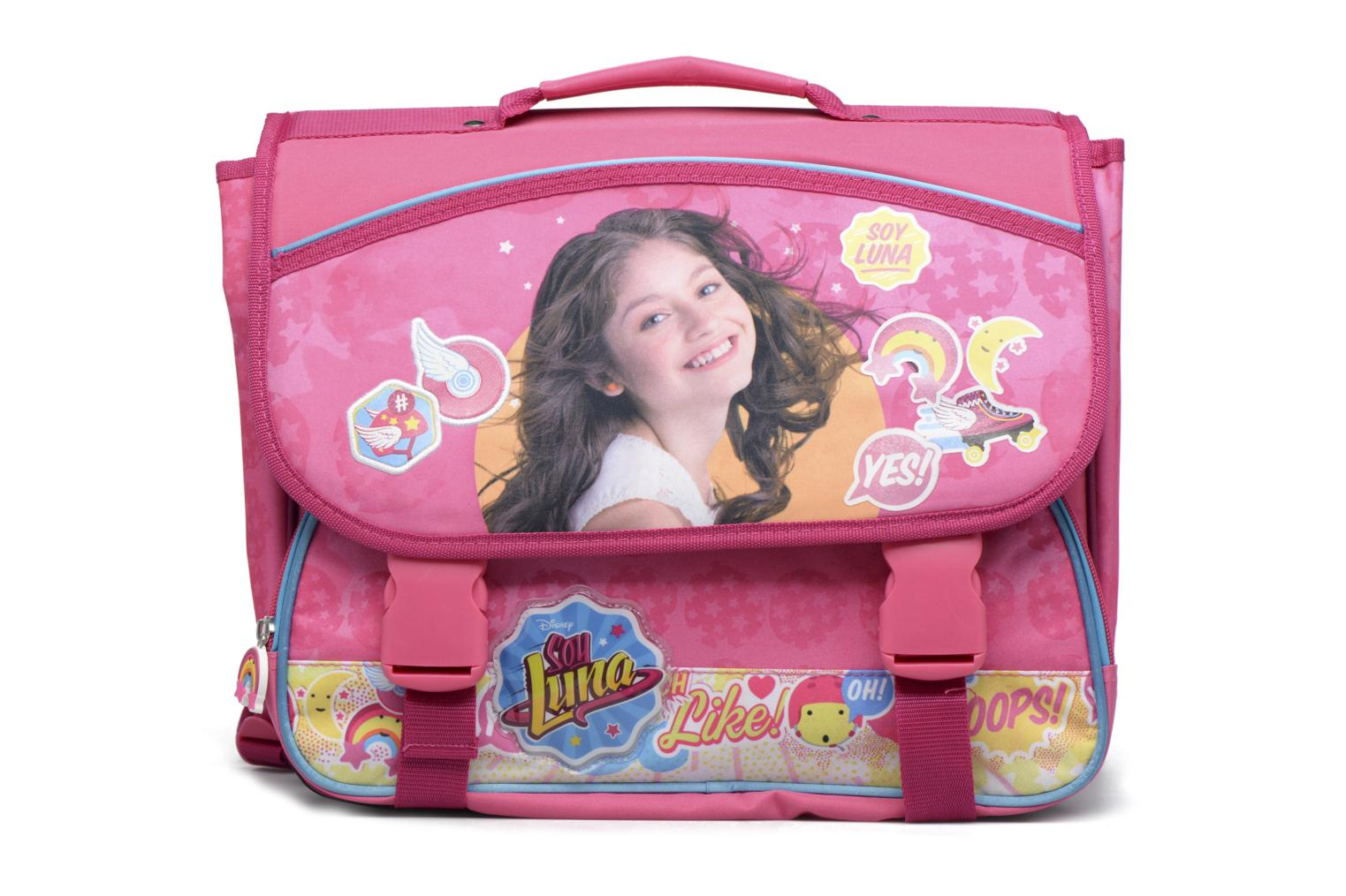 School bags Soy Luna Cartable 38cm Pink detailed view/ Pair view