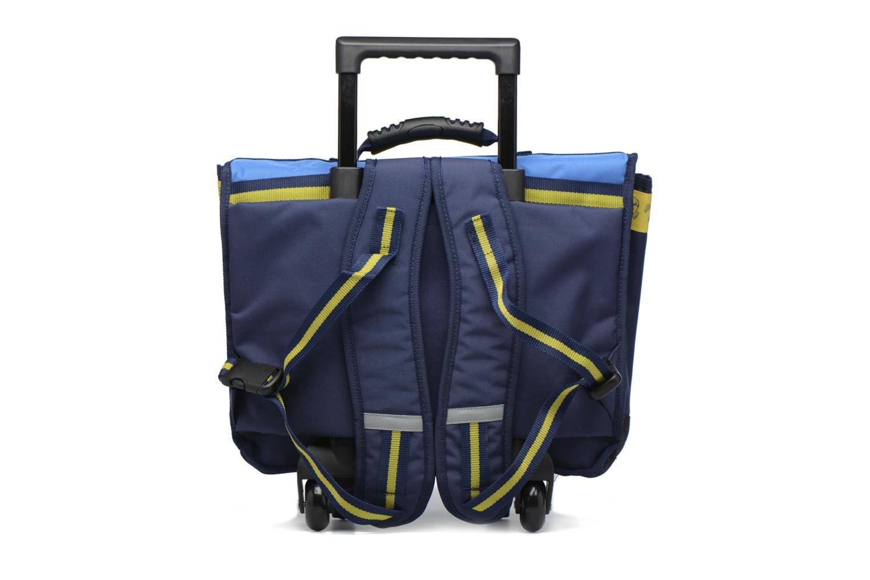 Cartable 41cm Trolley Bleu
