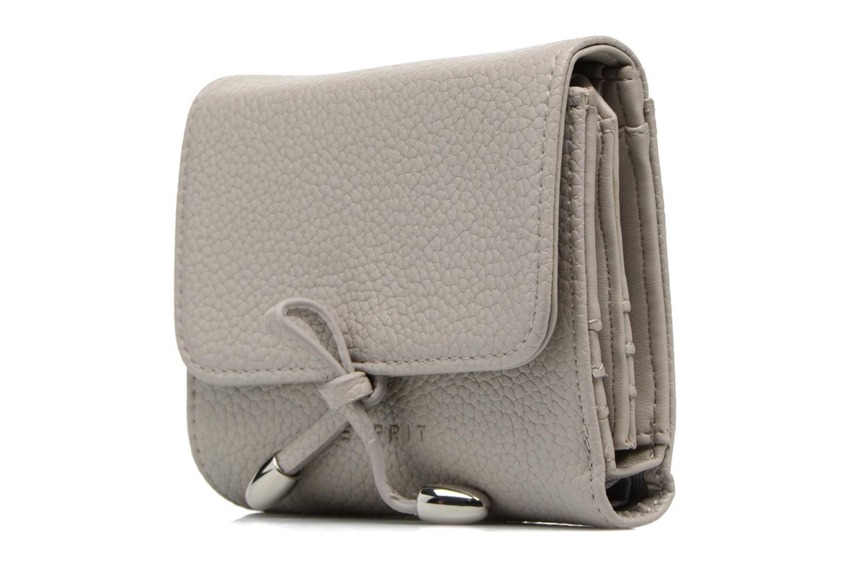 Marroquinería pequeña Esprit Tilda City Wallet Gris vista del modelo