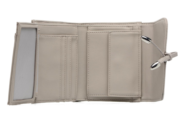 Kleine lederwaren Esprit Tilda City Wallet Grijs achterkant