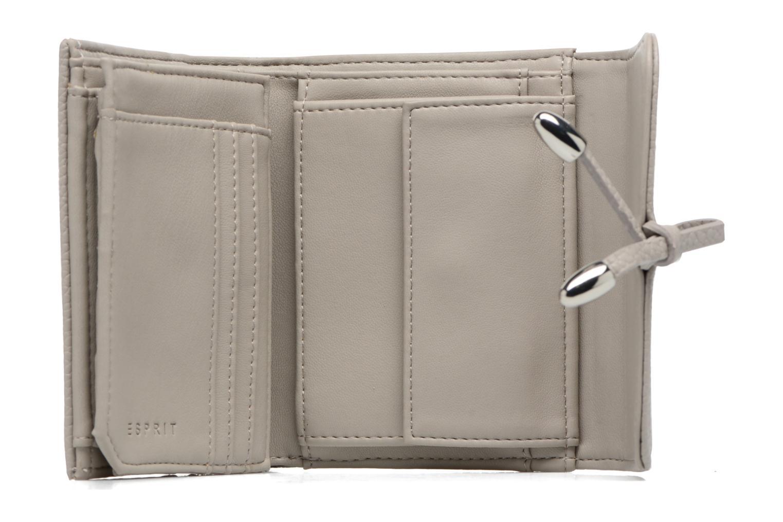 Marroquinería pequeña Esprit Tilda City Wallet Gris vista lateral izquierda
