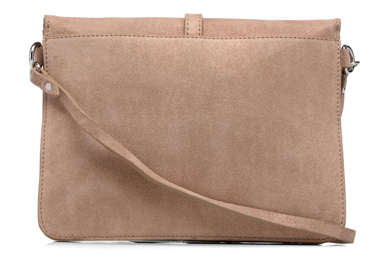 Handtaschen Esprit Thelma FL Shoulder Leather bag braun ansicht von vorne
