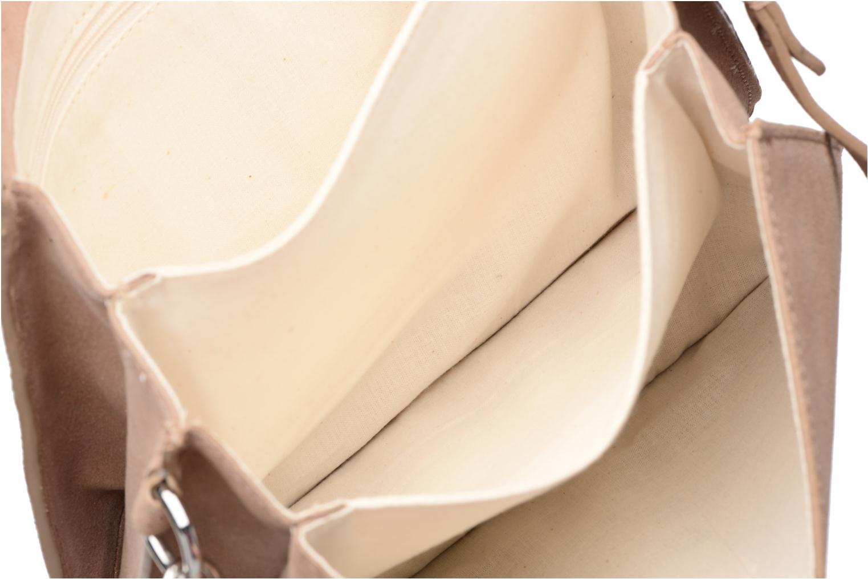 Sacs à main Esprit Thelma FL Shoulder Leather bag Marron vue derrière
