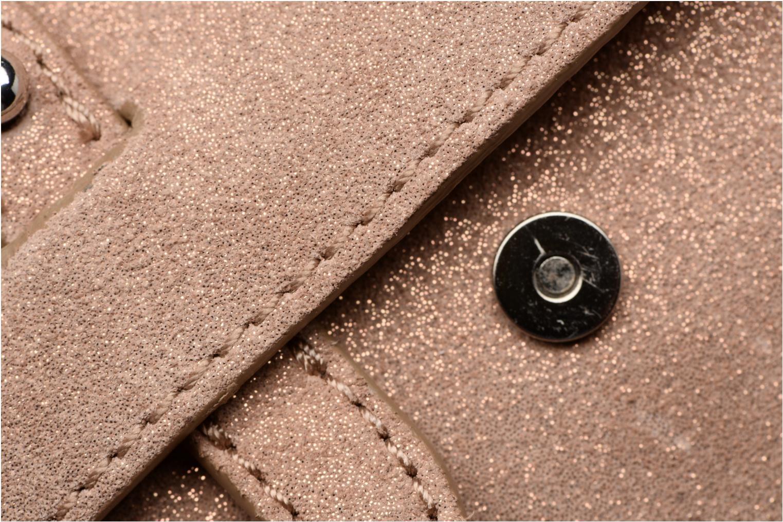 Handtaschen Esprit Thelma FL Shoulder Leather bag braun ansicht von links