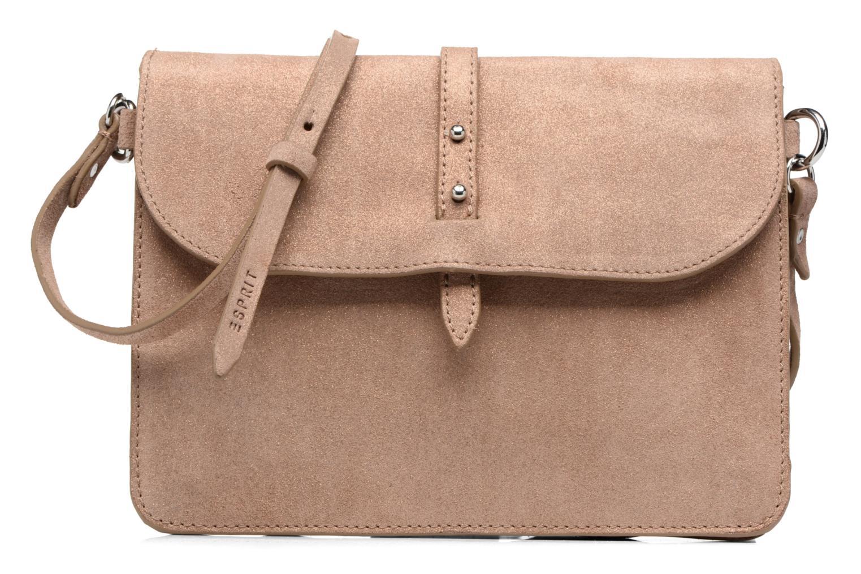 Handtaschen Esprit Thelma FL Shoulder Leather bag braun detaillierte ansicht/modell