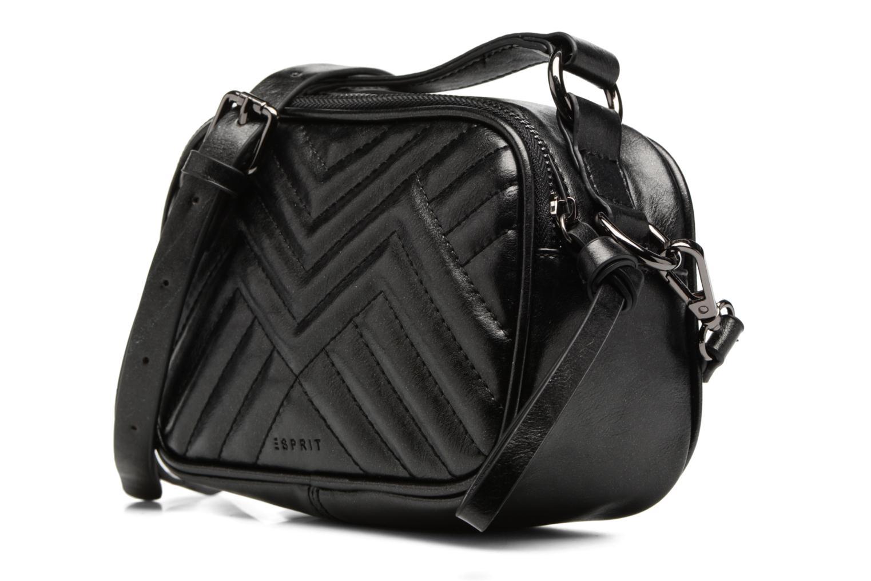 Sacs à main Esprit Tascha Small Shoulderbag Noir vue portées chaussures