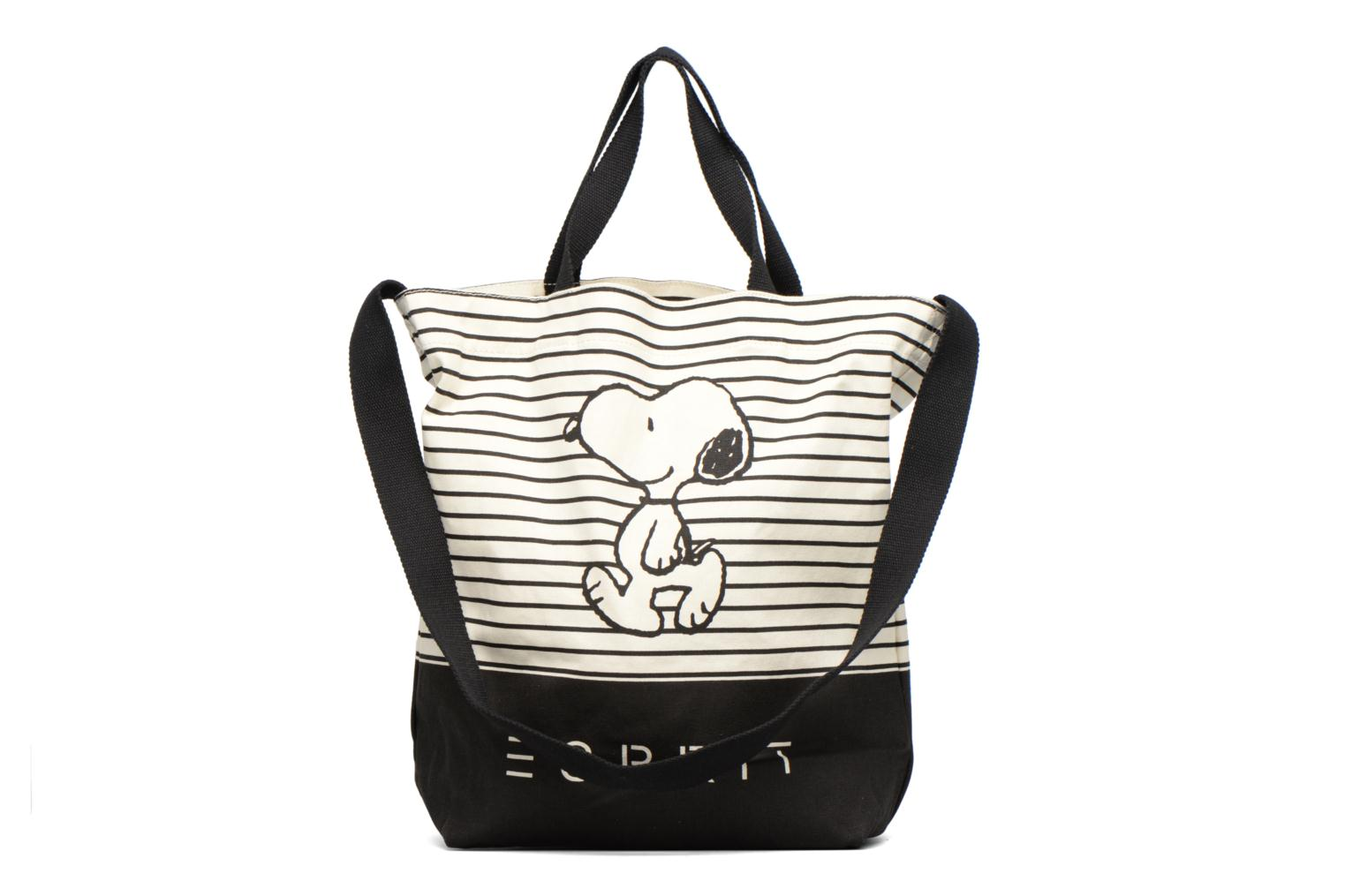 Snoopy Canvas Shopper Black