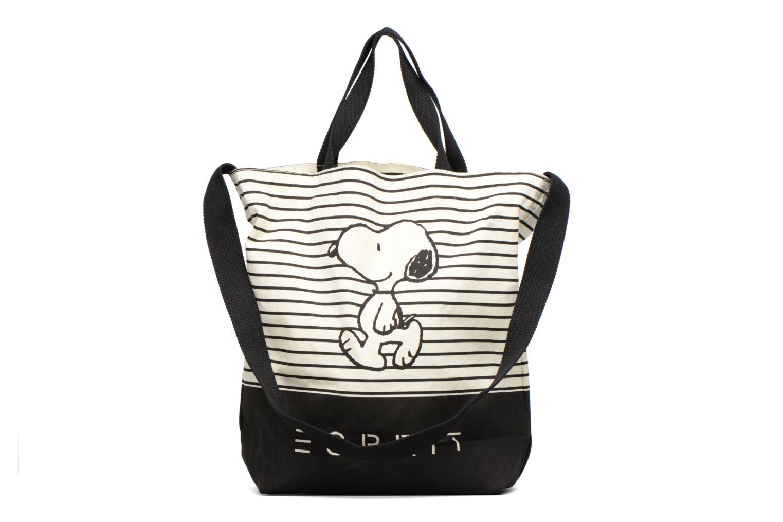 Handtaschen Esprit Snoopy Canvas Shopper mehrfarbig ansicht von vorne