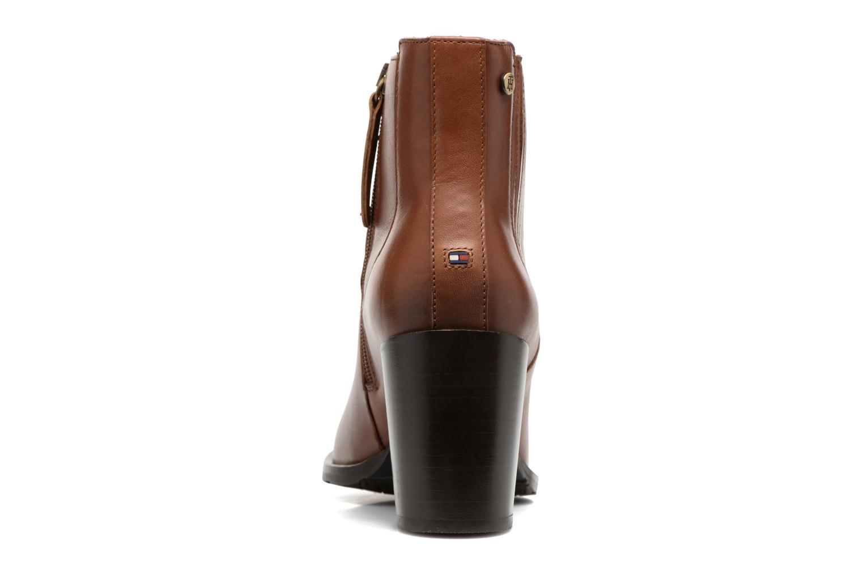 Bottines et boots Tommy Hilfiger Penelope 17A Marron vue droite