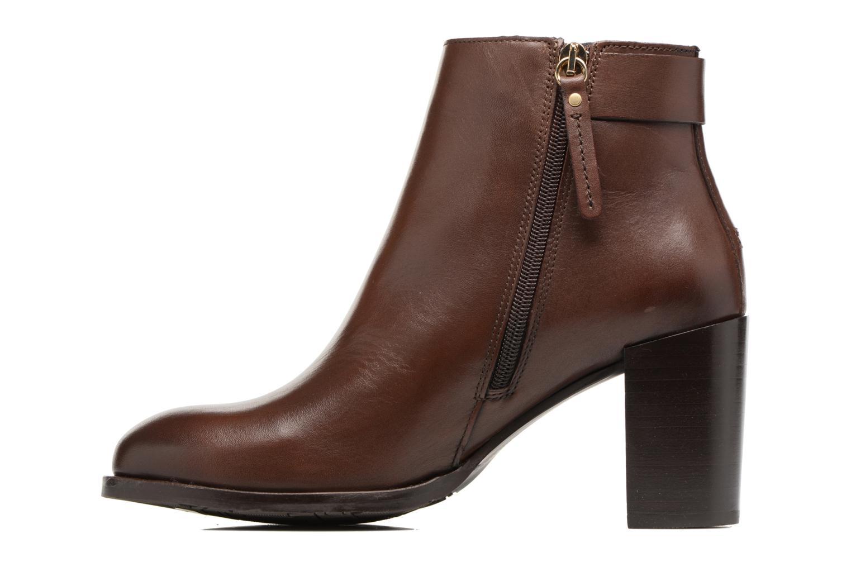 Boots en enkellaarsjes Tommy Hilfiger Penelope 18A Bruin voorkant