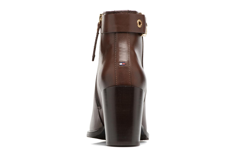 Boots en enkellaarsjes Tommy Hilfiger Penelope 18A Bruin rechts