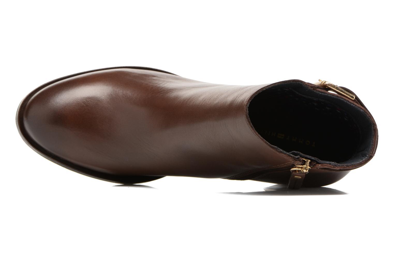Boots en enkellaarsjes Tommy Hilfiger Penelope 18A Bruin links