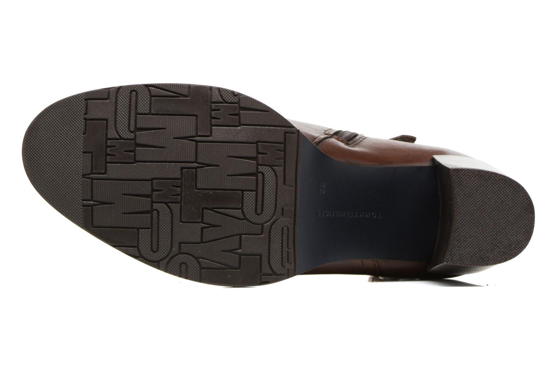 Boots en enkellaarsjes Tommy Hilfiger Penelope 18A Bruin boven