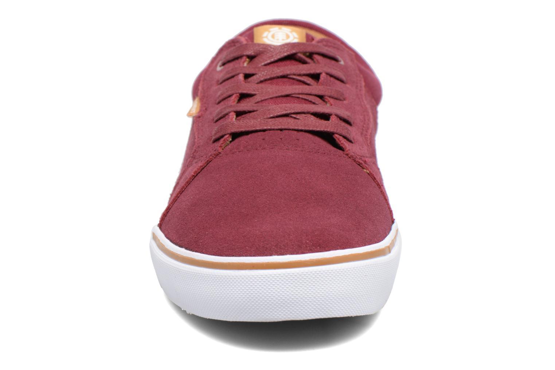 Baskets Element Wasso Bordeaux vue portées chaussures