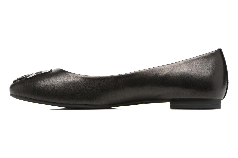 Ballerinas Karl Lagerfeld Klara Ikonic Ballet Pump schwarz ansicht von vorne