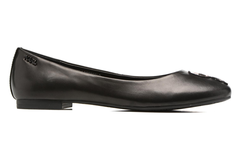 Ballerinas Karl Lagerfeld Klara Ikonic Ballet Pump schwarz ansicht von hinten