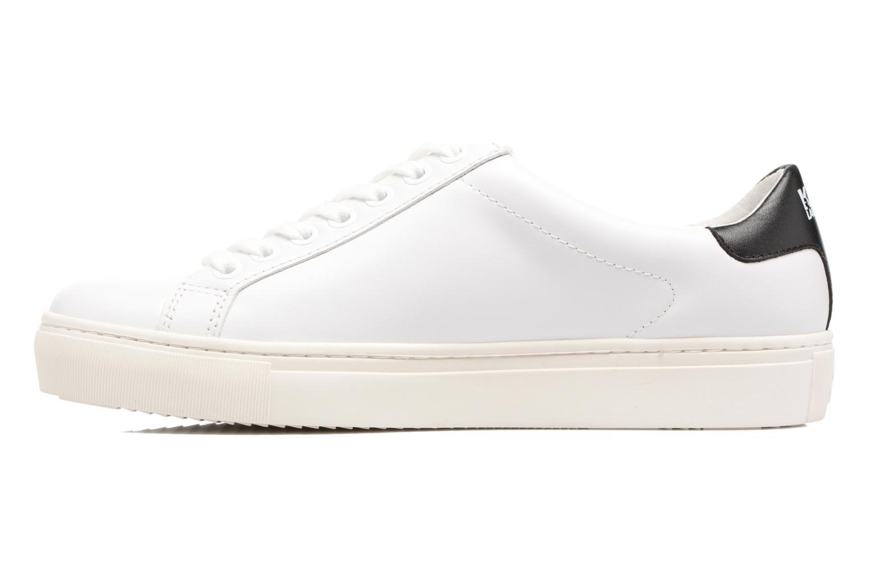 Sneaker Karl Lagerfeld Kupsole Karl Ikonik Lo Lace weiß ansicht von vorne