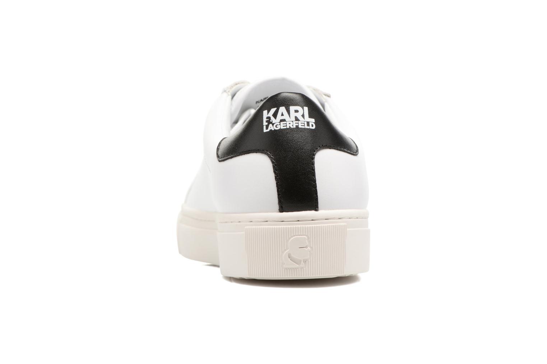 Sneakers Karl Lagerfeld Kupsole Karl Ikonik Lo Lace Vit Bild från höger sidan