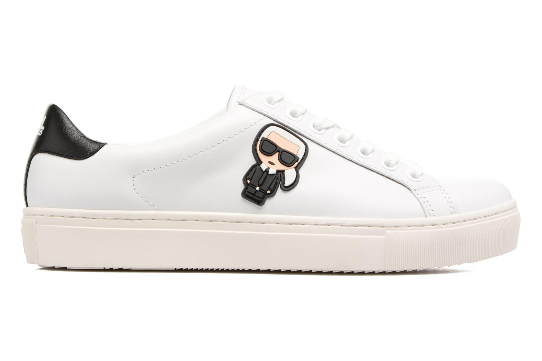 Sneakers Karl Lagerfeld Kupsole Karl Ikonik Lo Lace Wit achterkant