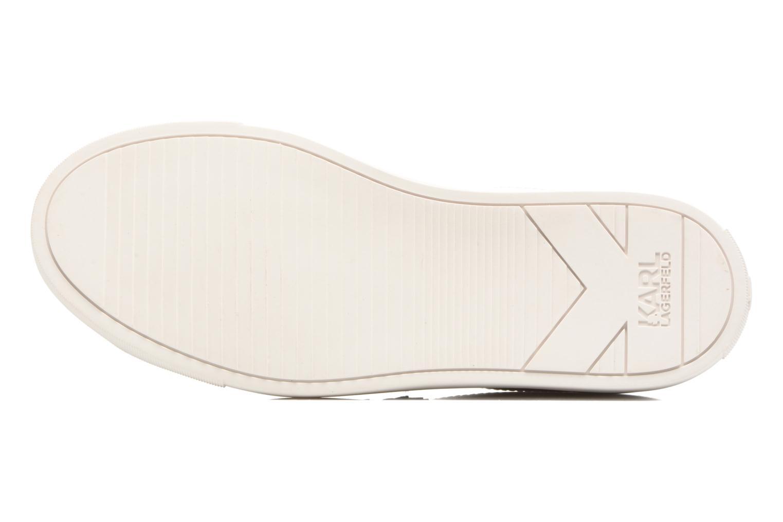 Sneakers Karl Lagerfeld Kupsole Karl Ikonik Lo Lace Bianco immagine dall'alto