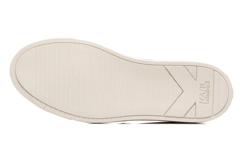 Sneakers Karl Lagerfeld Kupsole Karl Ikonik Lo Lace Rosa bild från ovan