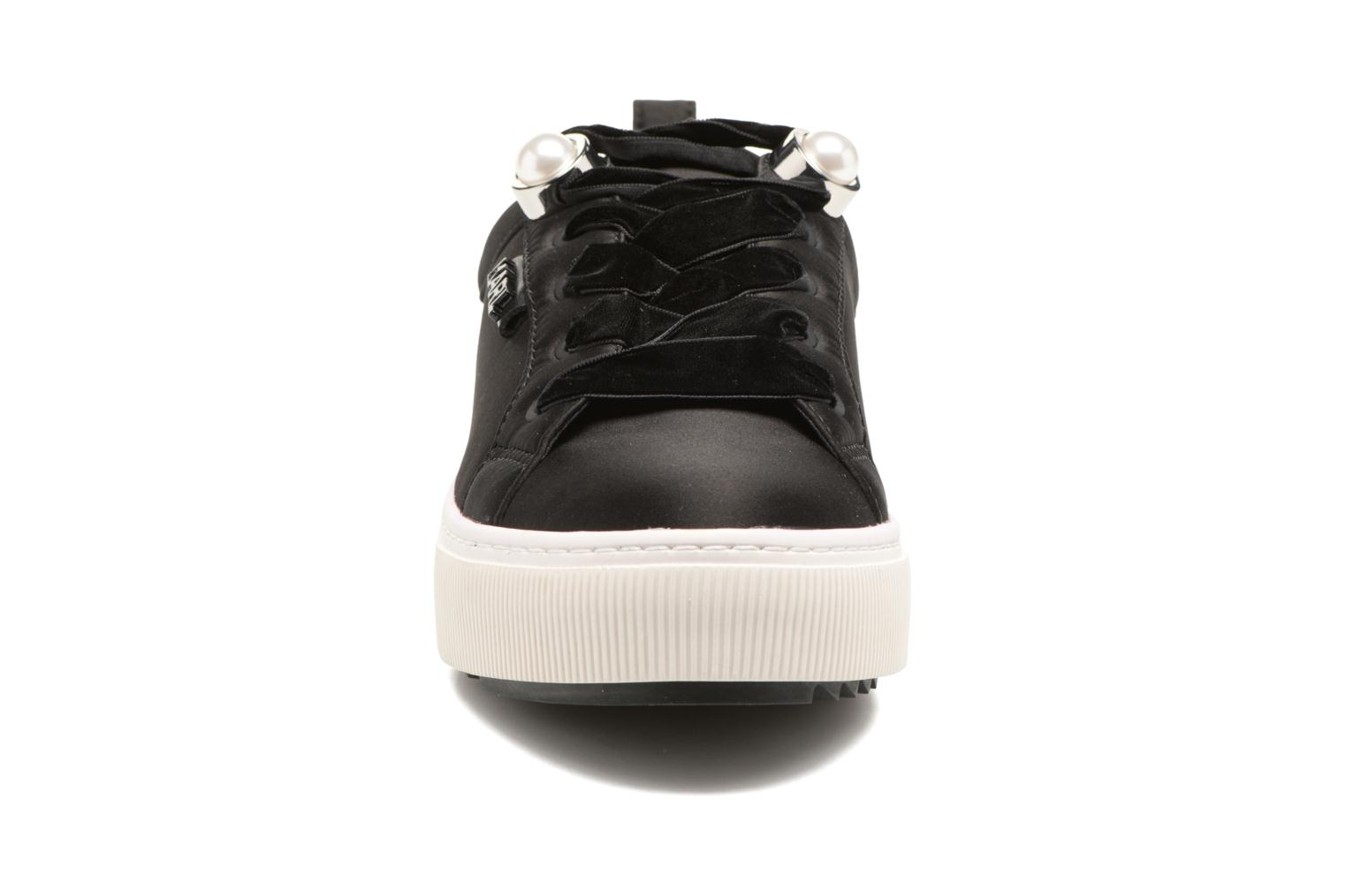 Trainers Karl Lagerfeld Luxor Kup Lace Shoe Black model view