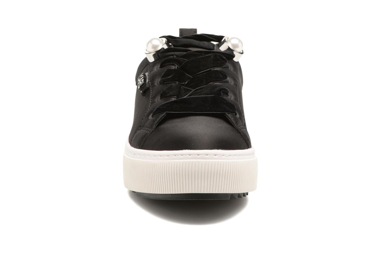 Baskets Karl Lagerfeld Luxor Kup Lace Shoe Noir vue portées chaussures