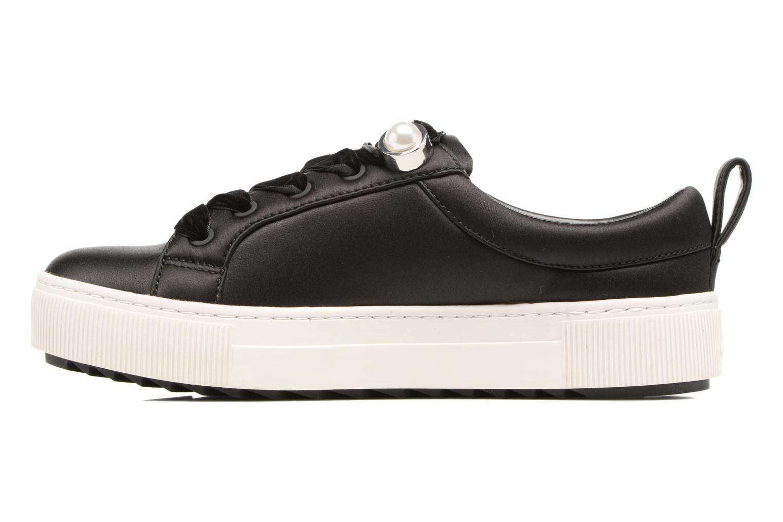 Baskets Karl Lagerfeld Luxor Kup Lace Shoe Noir vue face