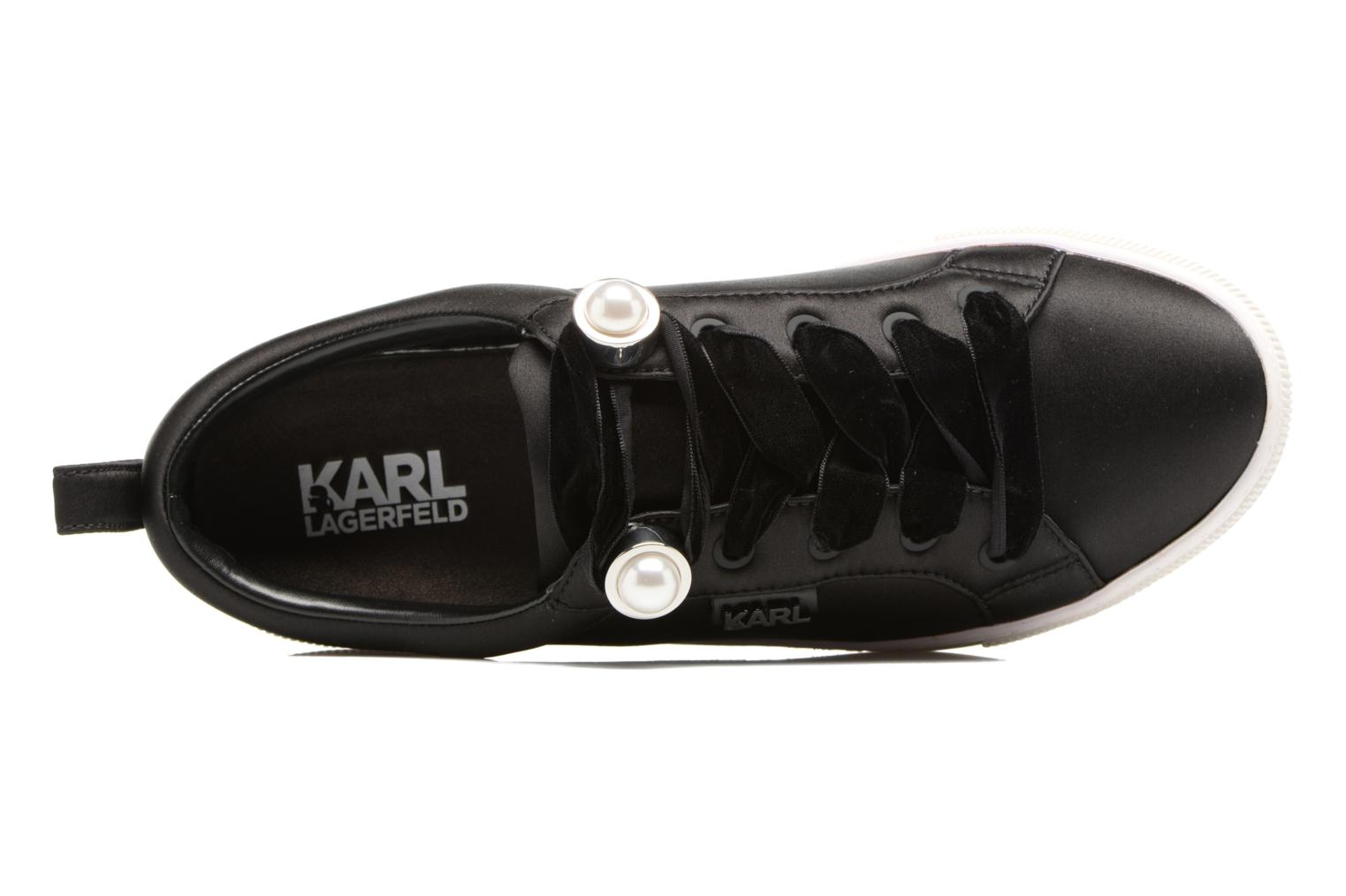 Sneakers Karl Lagerfeld Luxor Kup Lace Shoe Nero immagine sinistra