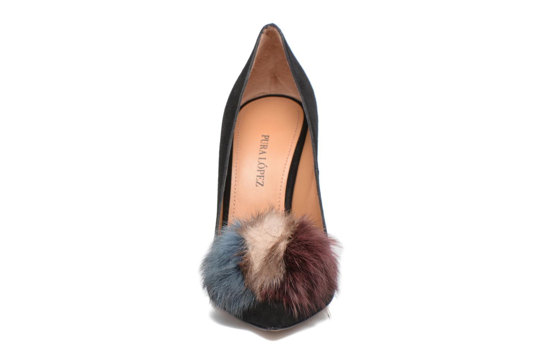 Escarpins Pura Lopez ZAAK107B Noir vue portées chaussures