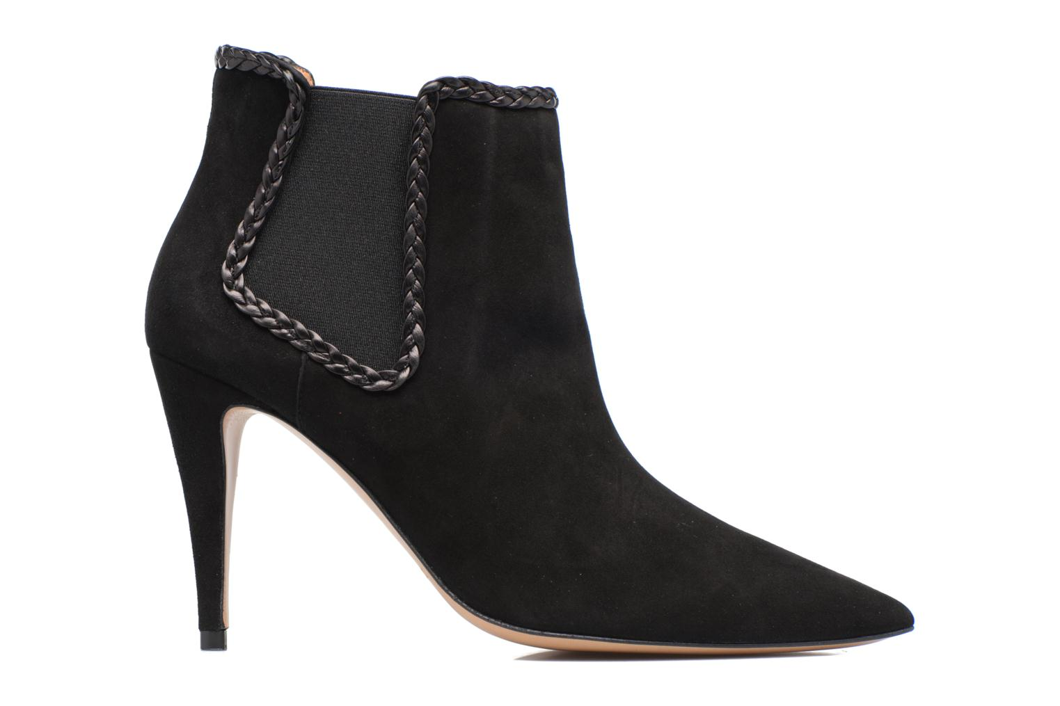 Ankle boots Pura Lopez BNAL160B Black back view