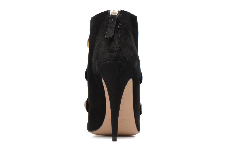 Bottines et boots Pura Lopez BNAL134 Noir vue droite