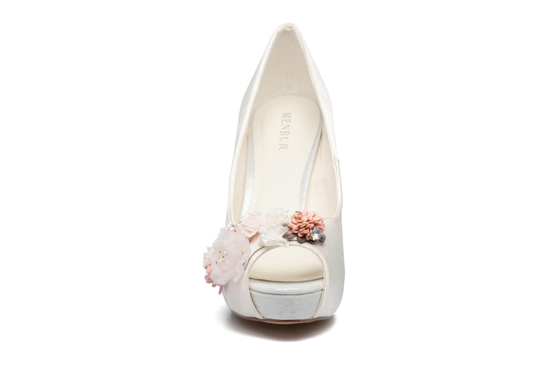 Escarpins Menbur Clara Blanc vue portées chaussures