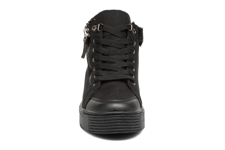 Baskets I Love Shoes THEMO Noir vue portées chaussures