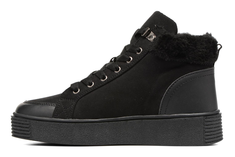 Deportivas I Love Shoes THEMO Negro vista de frente
