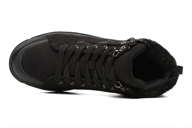 Baskets I Love Shoes THEMO Noir vue gauche
