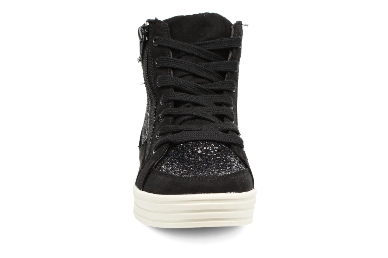 Deportivas I Love Shoes THALEP Negro vista del modelo