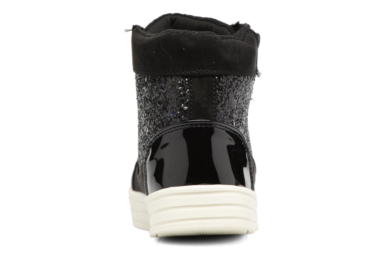 Deportivas I Love Shoes THALEP Negro vista lateral derecha