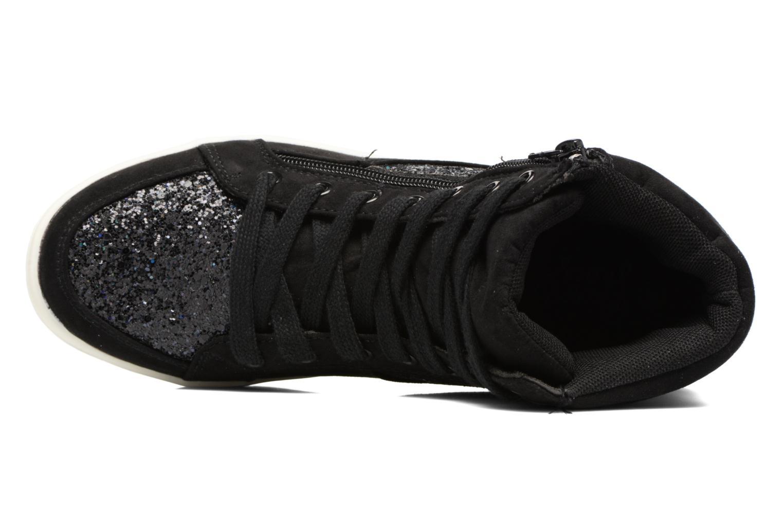 Deportivas I Love Shoes THALEP Negro vista lateral izquierda