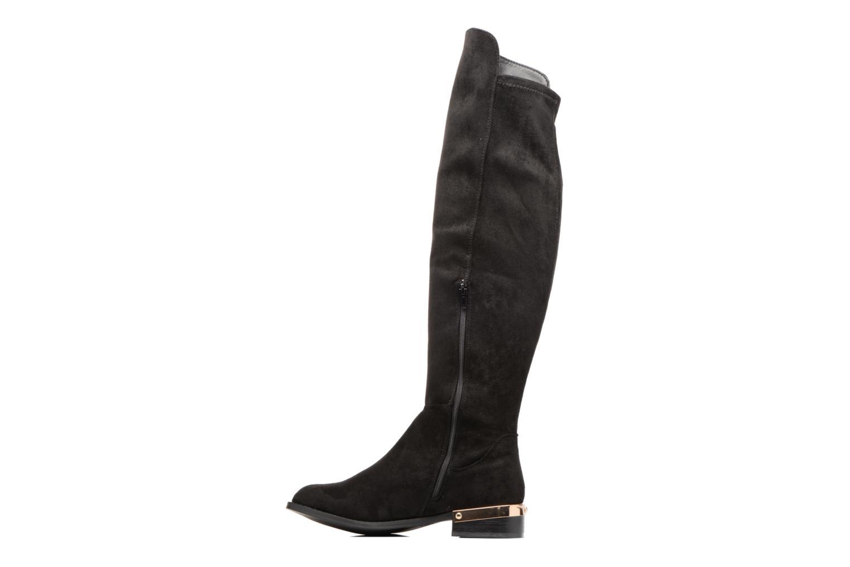 Bottes I Love Shoes THIANA Noir vue face